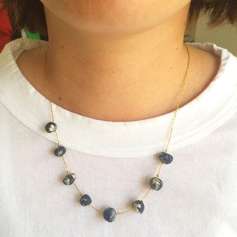 Suno & Morrison : cotton stone necklace_a0234452_18164007.jpg