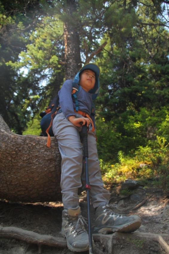 親子のラーチバレーハイキング K様_d0112928_05150237.jpg