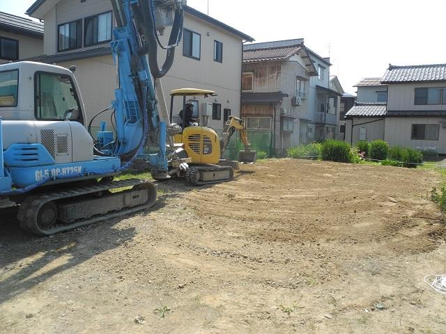 現場の様子(大島新町の家) その二_c0247768_754351.jpg