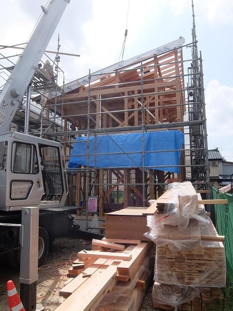 現場の様子(大島新町の家) その二_c0247768_7554973.jpg