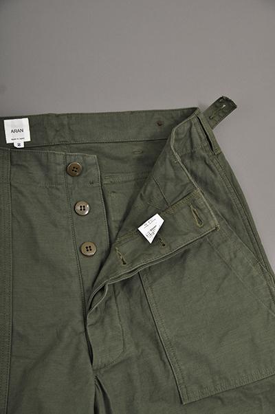 ARAN Fatigue Pants (Olive)_d0120442_18175796.jpg