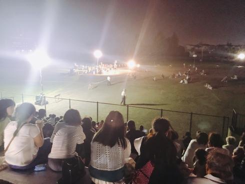 野球場の活用〜紫波夏祭り〜_b0199244_23481884.jpg