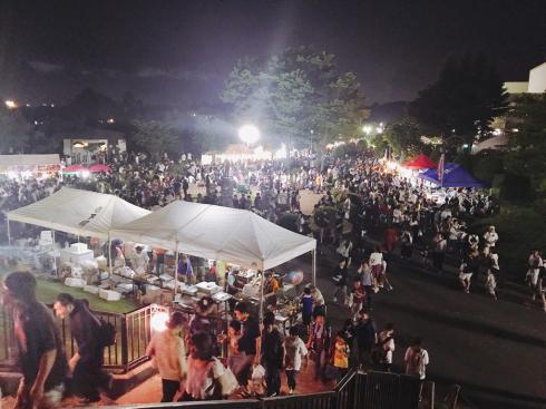 野球場の活用〜紫波夏祭り〜_b0199244_23481906.jpg