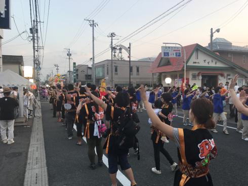 野球場の活用〜紫波夏祭り〜_b0199244_23481934.jpg
