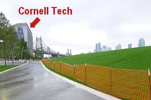 巨大ハイテク・キャンパスの真横に素敵な公園作るのがニューヨーク流_b0007805_22353618.jpg