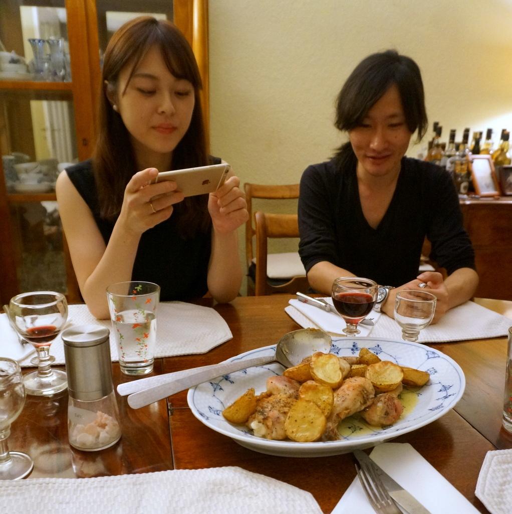 土曜日の晩餐_c0180686_23205045.jpg