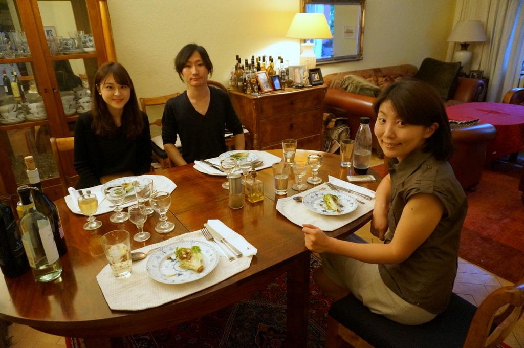 土曜日の晩餐_c0180686_23231943.jpg