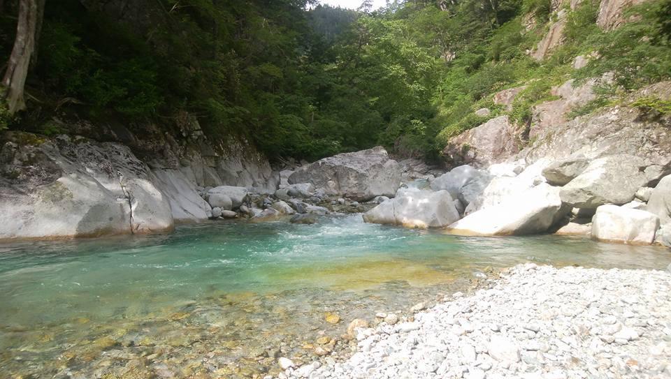 日本の美しき大自然 金木戸川双六谷 _e0231387_15434530.jpg
