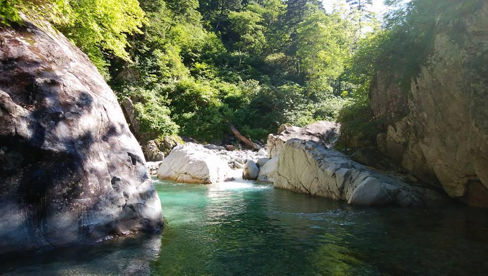 日本の美しき大自然 金木戸川双六谷 _e0231387_15435527.jpg