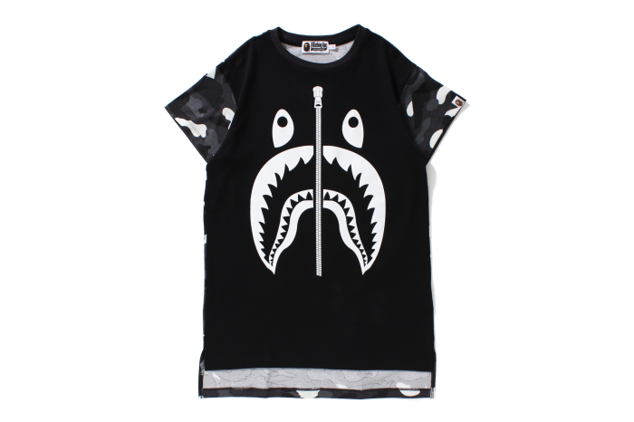 CITY CAMO SHARK LONG LENGTH TEE_a0174495_11413045.jpg