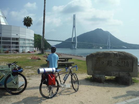 息子としまなみ海道キャンプサイクリング_c0132901_20135694.jpg