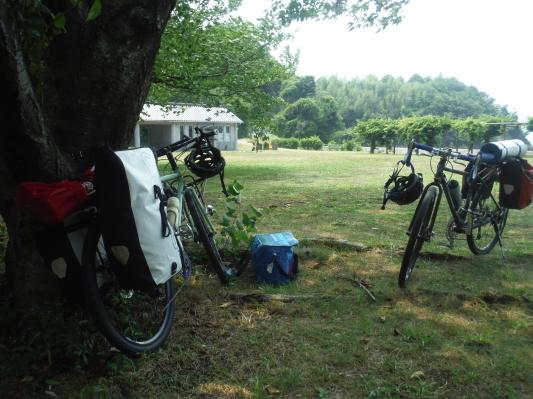 息子としまなみ海道キャンプサイクリング_c0132901_20291592.jpg