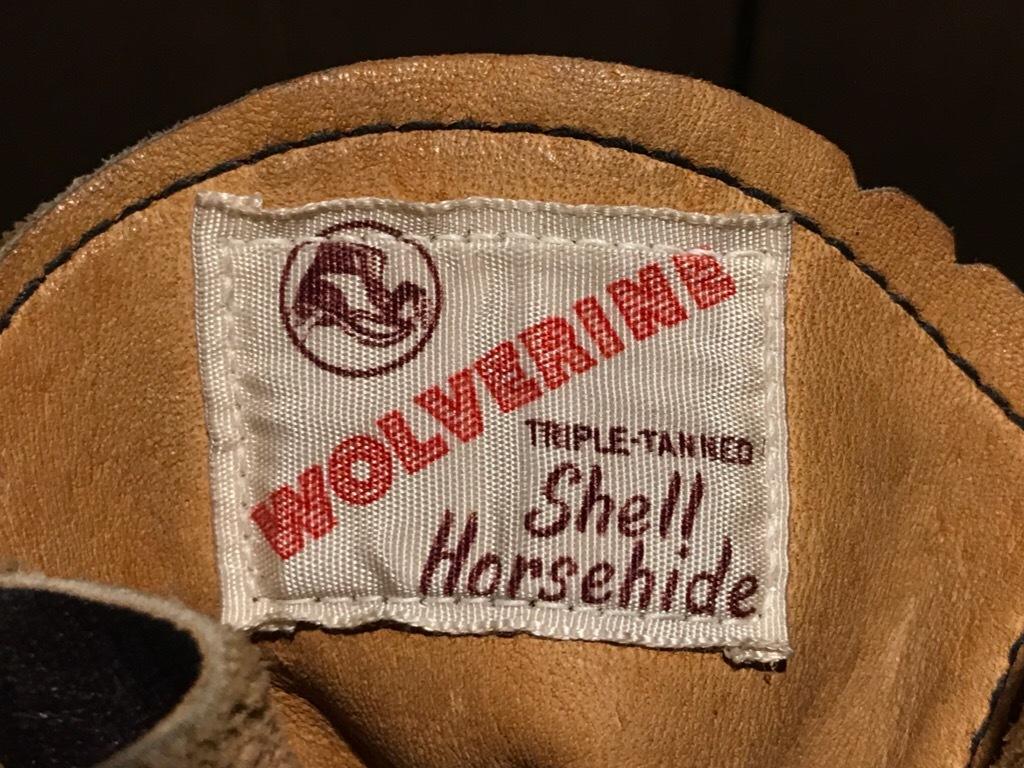 神戸店8/12(土)ヴィンテージブーツ&スーペリア入荷! #1 50\'s Wolverine NOS 1000mile Boots!HorseHide Boots!!!_c0078587_18122288.jpg
