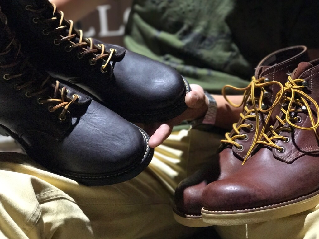 神戸店8/12(土)ヴィンテージブーツ&スーペリア入荷! #1 50\'s Wolverine NOS 1000mile Boots!HorseHide Boots!!!_c0078587_21350130.jpg