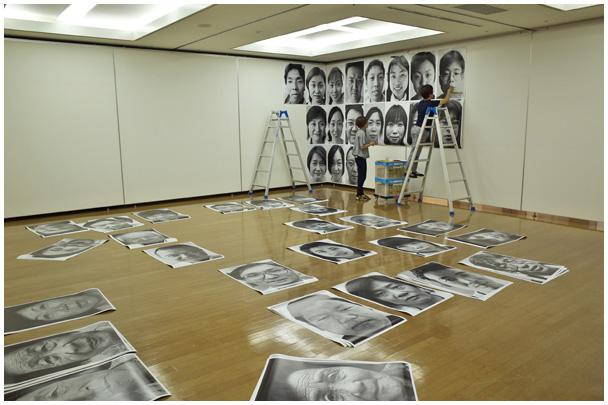フォトストリート40周年記念写真展搬入_d0272207_94912.jpg