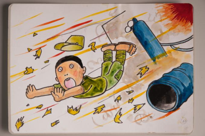 漫画家西山進氏、72年目の8月9日。_a0096313_07010458.jpg
