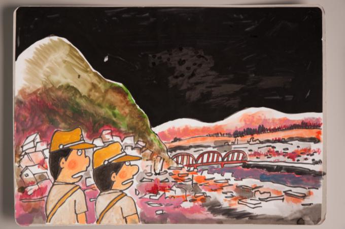 漫画家西山進氏、72年目の8月9日。_a0096313_07031306.jpg