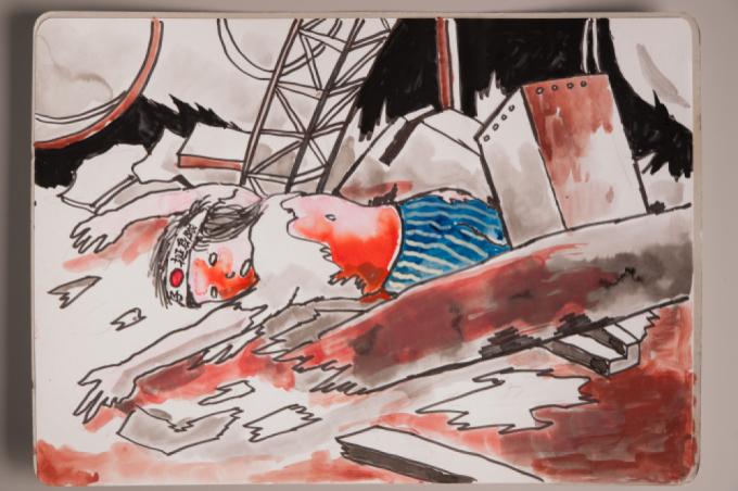 漫画家西山進氏、72年目の8月9日。_a0096313_07042135.jpg