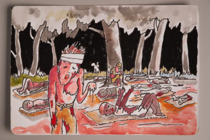 漫画家西山進氏、72年目の8月9日。_a0096313_07043365.jpg