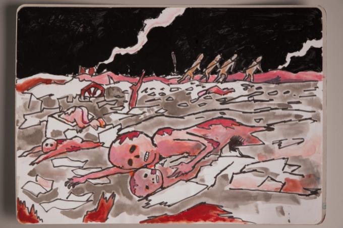 漫画家西山進氏、72年目の8月9日。_a0096313_07370374.jpg