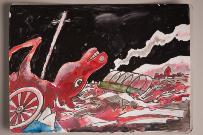 漫画家西山進氏、72年目の8月9日。_a0096313_07390073.jpg
