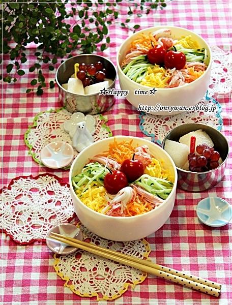 冷やし中華弁当と今夜のおうちごはん♪_f0348032_18030000.jpg