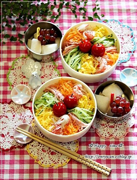 冷やし中華弁当と今夜のおうちごはん♪_f0348032_18031003.jpg