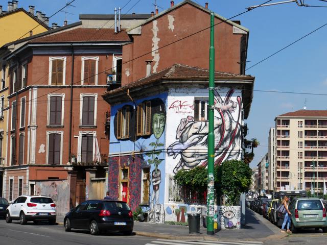 Naviglio a Milano 運河の残るナヴィリオ地区_d0262144_09344986.jpg