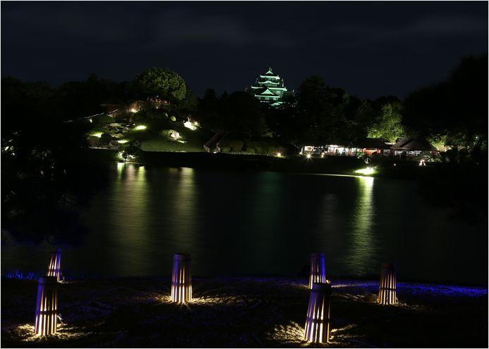 岡山後楽園 幻想庭園 ①_a0256349_10182281.jpg