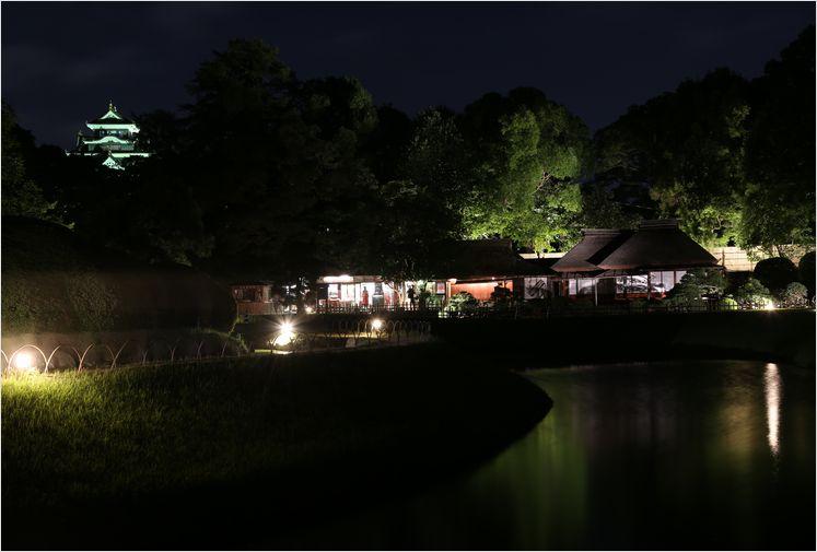 岡山後楽園 幻想庭園 ①_a0256349_10183810.jpg