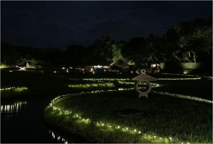 岡山後楽園 幻想庭園 ②_a0256349_1019534.jpg