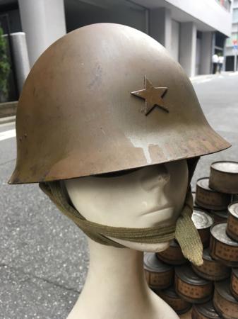 8月4日 東京都江東区買付分 陸軍鉄帽_a0154482_13453134.jpg