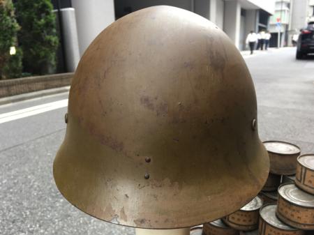 8月4日 東京都江東区買付分 陸軍鉄帽_a0154482_13453294.jpg