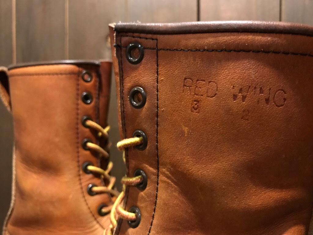 神戸店8/12(土)ヴィンテージブーツ&スーペリア入荷! #3REDWING Boots!!!_c0078587_18495941.jpg
