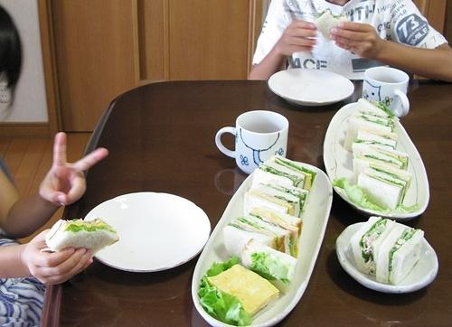 夏季合宿 昼食 夕食の御手伝い_f0129726_22350288.jpg