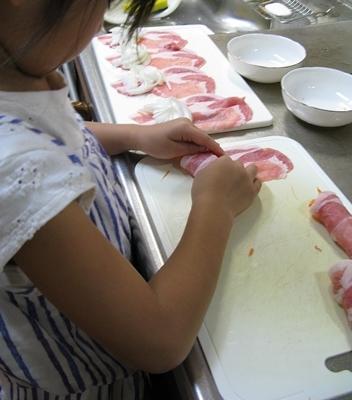 夏季合宿 昼食 夕食の御手伝い_f0129726_22380409.jpg
