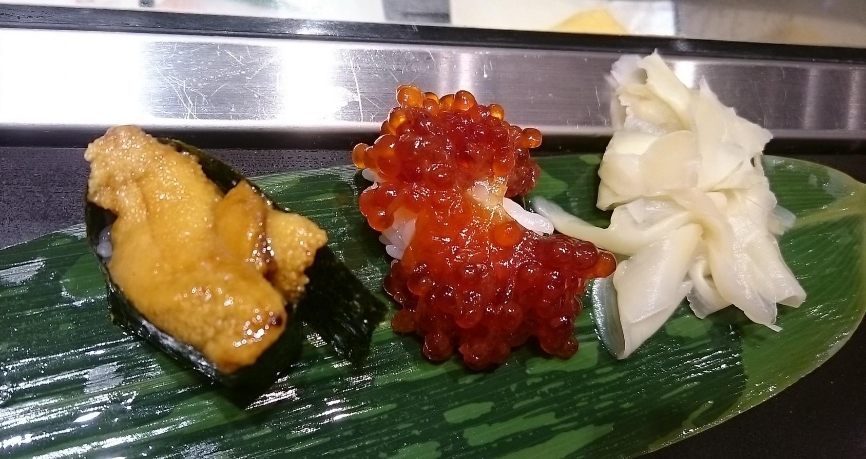 銀座で立ち食い鮨♪ 根室花まる_c0100865_10135285.jpg