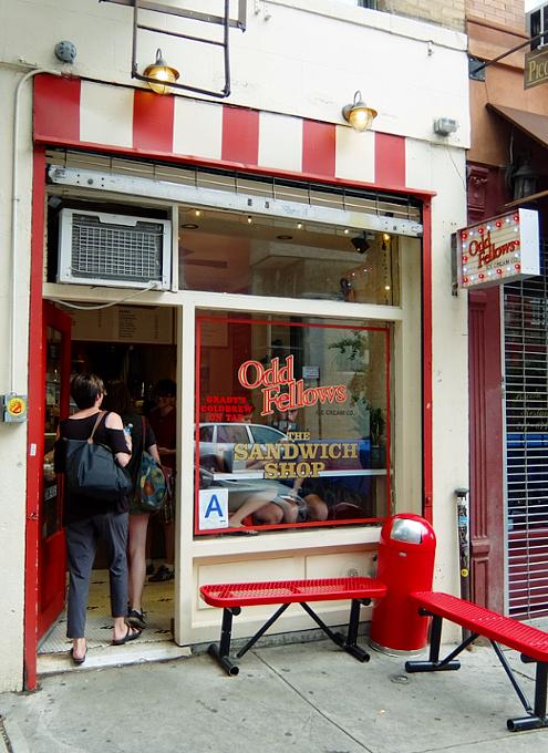 ちょっと変わったフレーバーのアイスのお店 OddFellows Ice Cream_b0007805_2395964.jpg