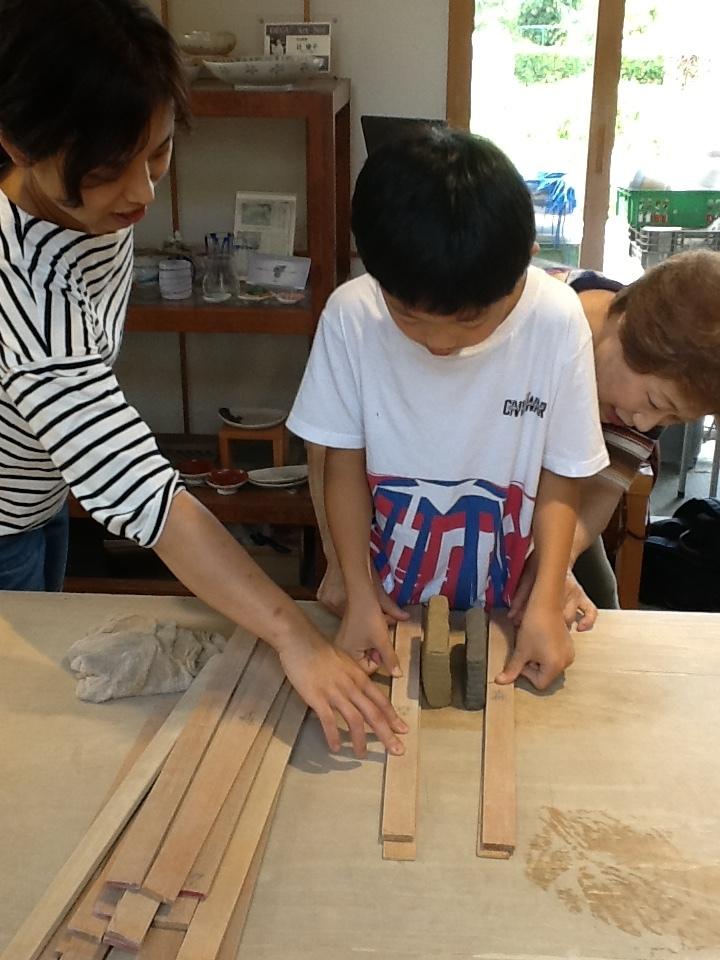 小学4年生、練り込み体験に再チャレンジ🎵_f0151419_15304053.jpeg