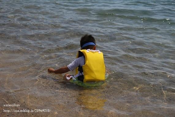 海水浴と夏休みの娘_e0214646_21322404.jpg