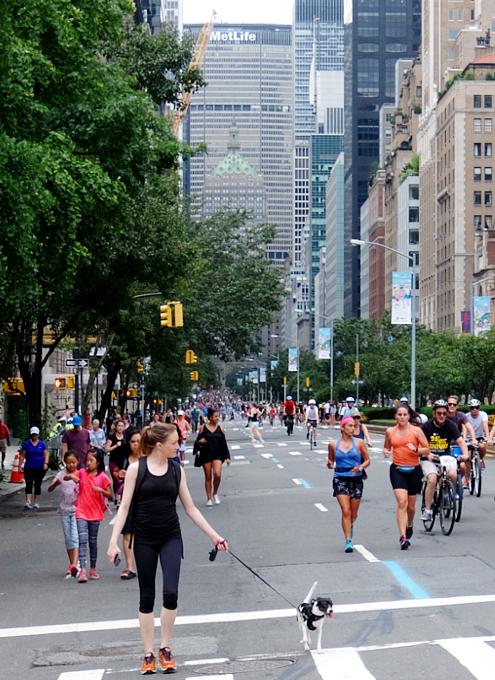 NY最長の歩行者天国イベント、Summer Streets 2017_b0007805_21231817.jpg