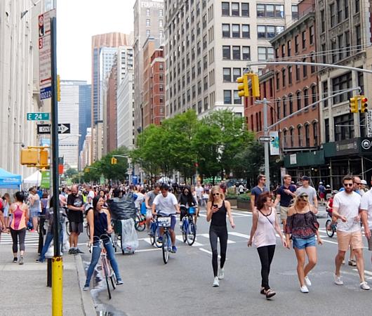 NY最長の歩行者天国イベント、Summer Streets 2017_b0007805_21261142.jpg