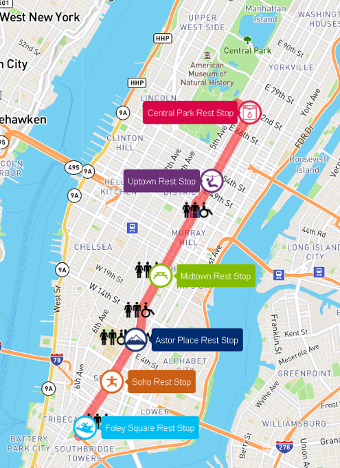 NY最長の歩行者天国イベント、Summer Streets 2017_b0007805_21273784.jpg