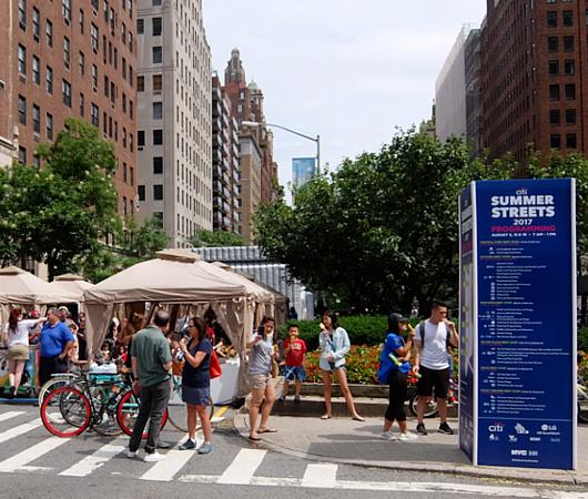 NY最長の歩行者天国イベント、Summer Streets 2017_b0007805_2127855.jpg