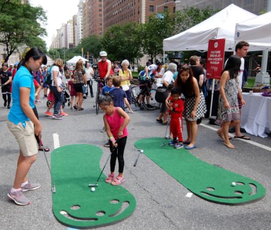 NY最長の歩行者天国イベント、Summer Streets 2017_b0007805_21294140.jpg