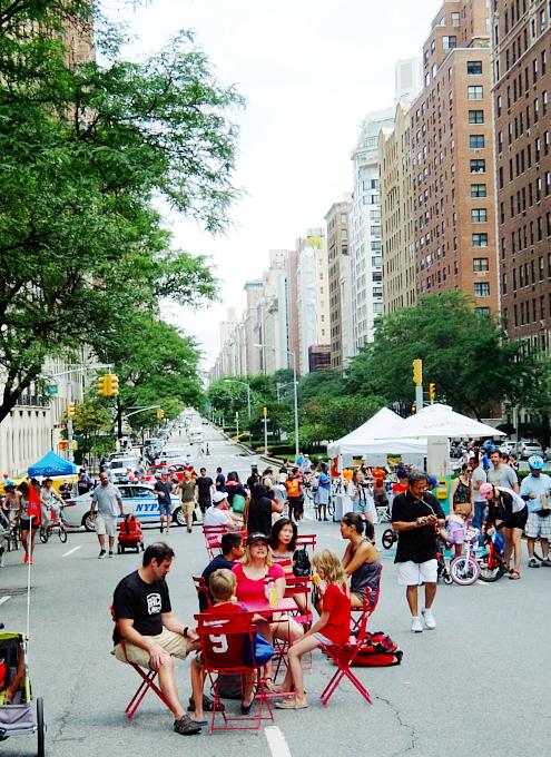 NY最長の歩行者天国イベント、Summer Streets 2017_b0007805_21332763.jpg
