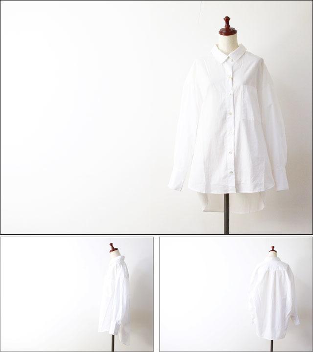 MidiUmi [ミディウミ] big shirt [3-733810A] ビッグシャツ・コットンシャツ・ワイドシャツ・長袖シャツ LADY\'S _f0051306_16554032.jpg