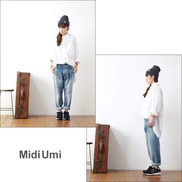 MidiUmi [ミディウミ] big shirt [3-733810A] ビッグシャツ・コットンシャツ・ワイドシャツ・長袖シャツ LADY\'S _f0051306_16554598.jpg