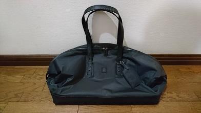 ダンヒルのボストンバッグを買う 『ダンヒル』シャシースーパーライト(ボストンバッグ)_c0364960_20105323.jpg