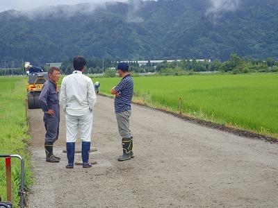 多面的機能支払事業 農地維持活動の現地確認調査が行われました_c0336902_09095897.jpg